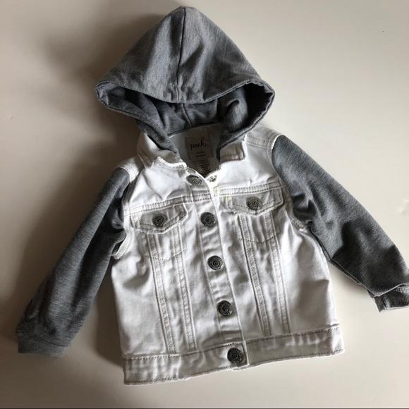 fd881094a Peek Jackets & Coats | Kids Jean Jacket 612 Months | Poshmark